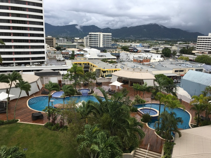 View of Cairns from Pullman Hotel
