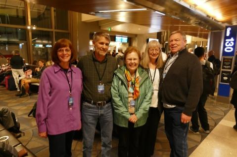 Carol, Garrett, Garnet, Judy, and Gary. LAX 2/22/17