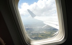 View of Cairns from plane