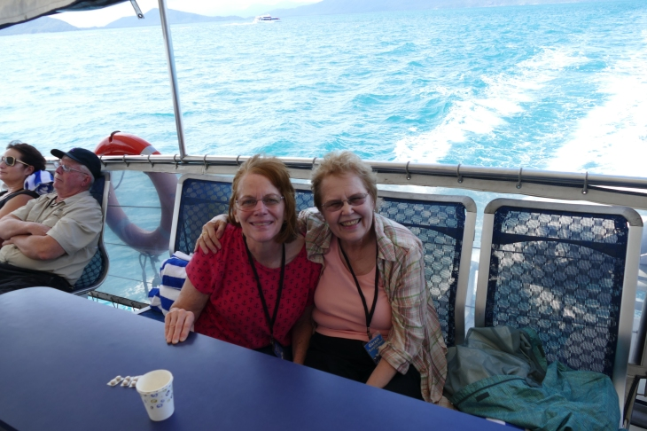 Garnet and Carol on the Ocean Spirit 2/25/2017