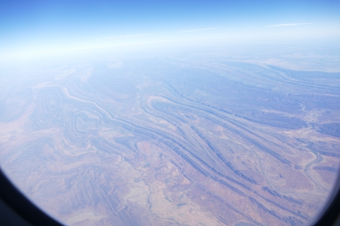 The Outback from the plane
