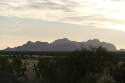 Kata Tjuta Sunset 2/27/2017