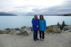 Judy and Carol at Hooker Lake