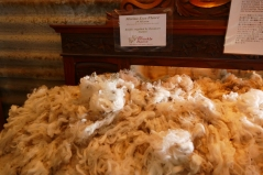 The merino fleeces at The Woolley Rams