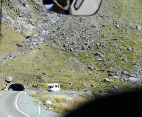 Homer Tunnel-taken from bus
