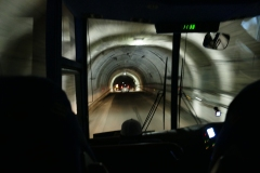 Inside Homer Tunnel-taken from bus