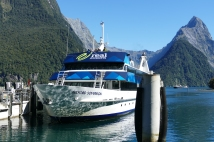 Our cruise boat-Milford Sound