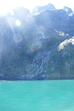 Stirling Falls-Milford Sound