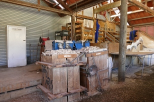 The Sheep Shearing Shed