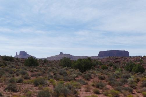 Vista with Castle Rock