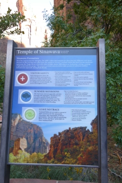 The Temple of Sinawava Trail