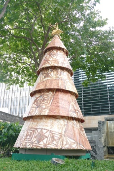 A tree in Downtown Honolulu