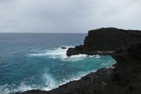 Cliffs close to Hanauma Bay
