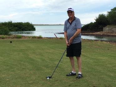 Ken at Navy Marine Golf Course