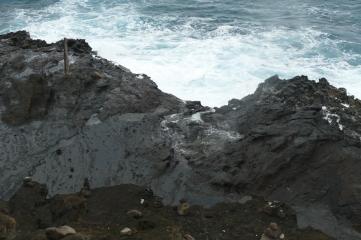 The blowhole near Hanauma Bay